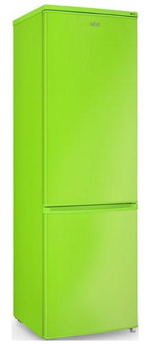 двухкамерный холодильник Artel HD 345 RN green right min