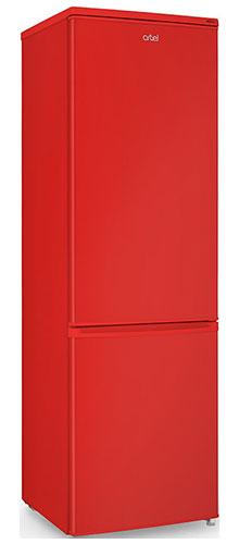 двухкамерный холодильник Artel HD 345 RN red right min