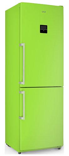 двухкамерный холодильник Artel HD 364 RWEN green right min