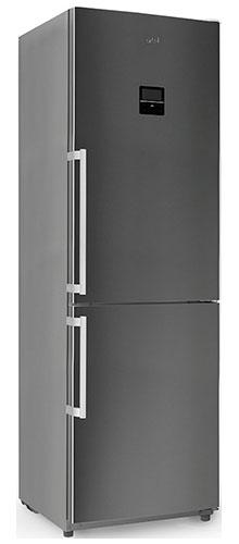 двухкамерный холодильник Artel HD 364 RWEN grey right min