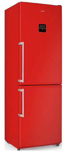 двухкамерный холодильник Artel HD 364 RWEN red right min