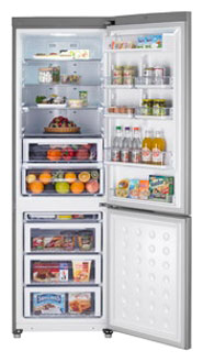 двухкамерный холодильник Samsung RL-55 VJBIH