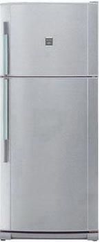 двухкамерный холодильник Sharp SJ 642 NSL