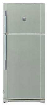 двухкамерный холодильник Sharp SJ-692NGR