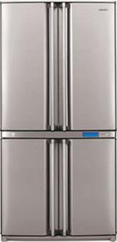 двухкамерный холодильник Sharp SJ-F91SPSL