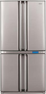 двухкамерный холодильник Sharp SJ-F96SPSL