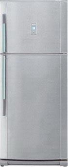 двухкамерный холодильник Sharp SJ P 642 NSL