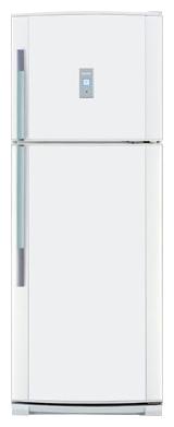 двухкамерный холодильник Sharp SJ-P442NWH