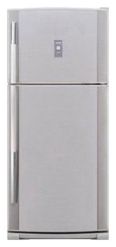 двухкамерный холодильник Sharp SJ-P482NSL