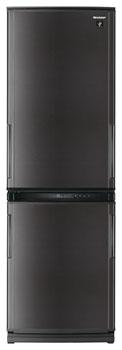 двухкамерный холодильник Sharp SJ-WP331TBK