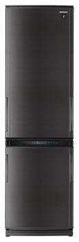 двухкамерный холодильник Sharp SJ-WP371TBK