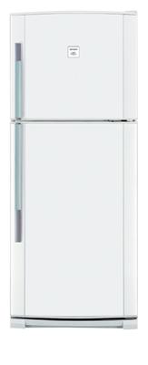 двухкамерный холодильник Sharp SJ 44 NWH