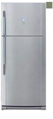 двухкамерный холодильник Sharp SJ-641 NGR