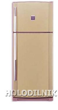 двухкамерный холодильник Sharp SJ-64 MBE