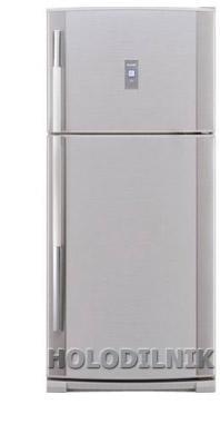 двухкамерный холодильник Sharp SJ-64 MSL