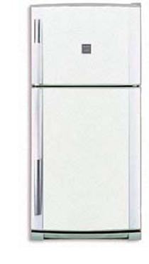 двухкамерный холодильник Sharp SJ-64 MWH