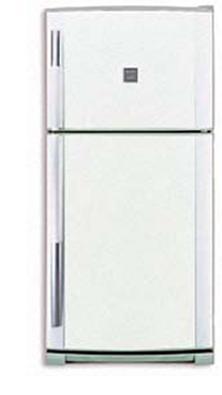 двухкамерный холодильник Sharp SJ-69 MWH