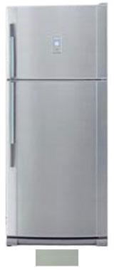 двухкамерный холодильник Sharp SJ-691NGR