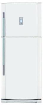 двухкамерный холодильник Sharp SJ P 44 NWH