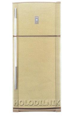 двухкамерный холодильник Sharp SJ-P 69 MBE