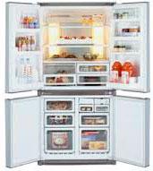 Многокамерный холодильник Sharp SJ-F70PVSL
