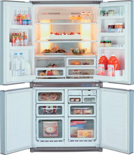 Многокамерный холодильник Sharp SJ-F73PEBE