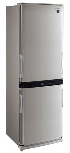 двухкамерный холодильник Sharp SJWM331TSL