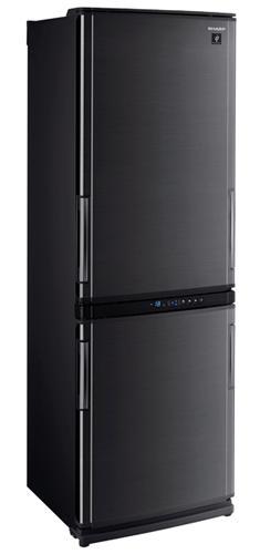 двухкамерный холодильник Sharp SJWP331TBK