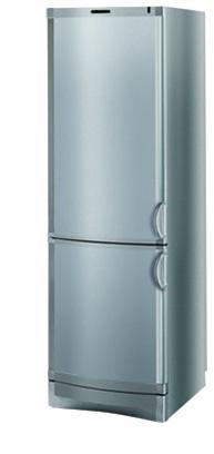 двухкамерный холодильник Vestfrost BKF-285 (Silver)