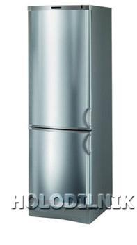 двухкамерный холодильник Vestfrost BKF-285(Steel)