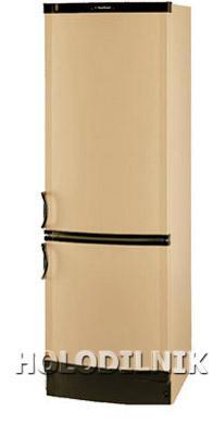 двухкамерный холодильник Vestfrost BKF-355-04 Alarm беж.