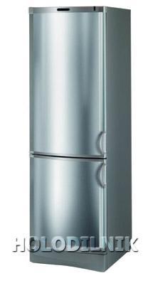 двухкамерный холодильник Vestfrost BKF-355-04 Alarm(Steel)