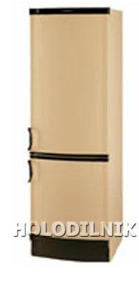 двухкамерный холодильник Vestfrost BKF-356-04 Alarm бежевый