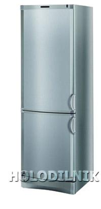 двухкамерный холодильник Vestfrost BKF-356-04 Alarm(серебро)
