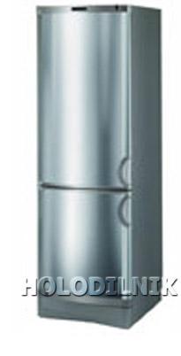 двухкамерный холодильник Vestfrost BKF-356-04 Alarm(Steel)