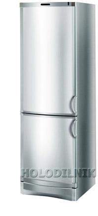 двухкамерный холодильник Vestfrost BKF 405 (алюминий)