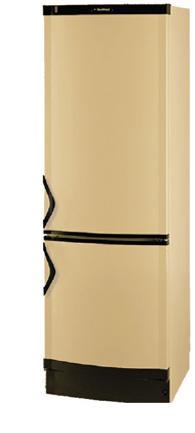 двухкамерный холодильник Vestfrost BKF 405 (бежевый)