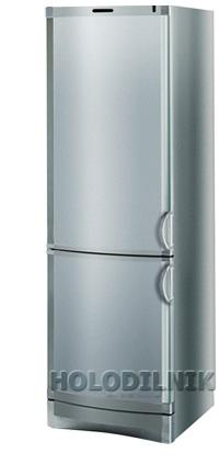 двухкамерный холодильник Vestfrost BKF 405 (серебро)