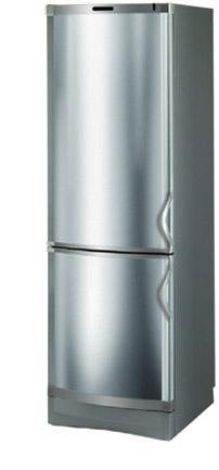 двухкамерный холодильник Vestfrost BKF 405 (нерж. сталь)