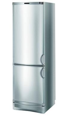 двухкамерный холодильник Vestfrost BKF 420 (алюминий)