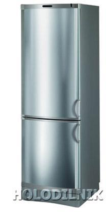 двухкамерный холодильник Vestfrost BKF 420 B 40 Steel