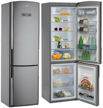 двухкамерный холодильник Whirlpool WBC 4046 A+NFCX