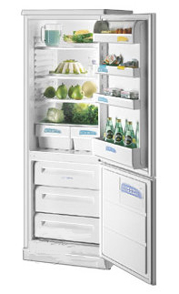 двухкамерный холодильник Zanussi ZFK 26/11