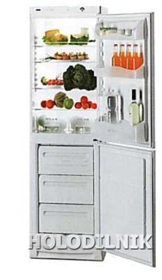 двухкамерный холодильник Zanussi ZK 21/10 GO