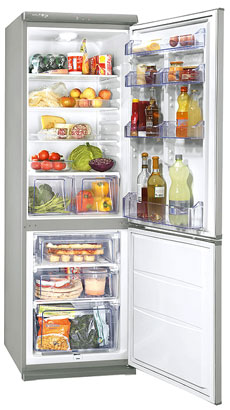 двухкамерный холодильник Zanussi ZRB334SO
