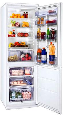 двухкамерный холодильник Zanussi ZRB334WO
