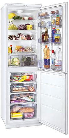 двухкамерный холодильник Zanussi ZRB336WO