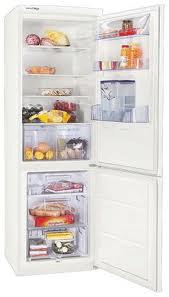 двухкамерный холодильник Zanussi ZRB836MW