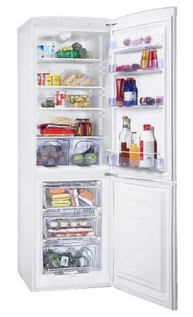 двухкамерный холодильник Zanussi ZRB 327 WO