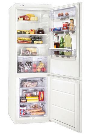 двухкамерный холодильник Zanussi ZRB 340 PW